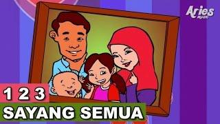 Alif Mimi 1 2 3 Sayang Semuanya Animasi 2D Lagu Kanak Kanak