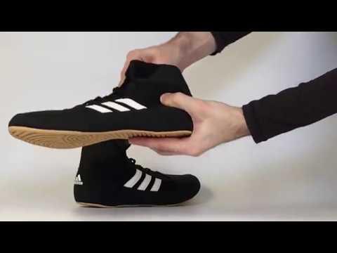 Wrestling Shoes Adidas HVC - Black/brown