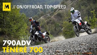 KTM 790 Adventure VS Yamaha Ténéré 700: SFIDA TOTALE! [English sub.]