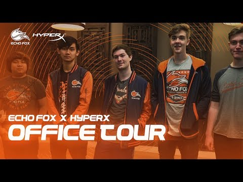 a54a9c90247 ECHO FOX OFFICE TOUR -  HyperXCam - YouTube