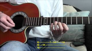 Como Tocar Todo Aquello Que Escribí Francis Cabrel en guitarra