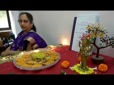 Dhanwantari Pujan at Saunvad Centre, Thane on 17th Oct 2017