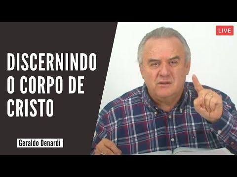 Discernindo o Corpo de Cristo - Ap. Denardi - Live 25/02