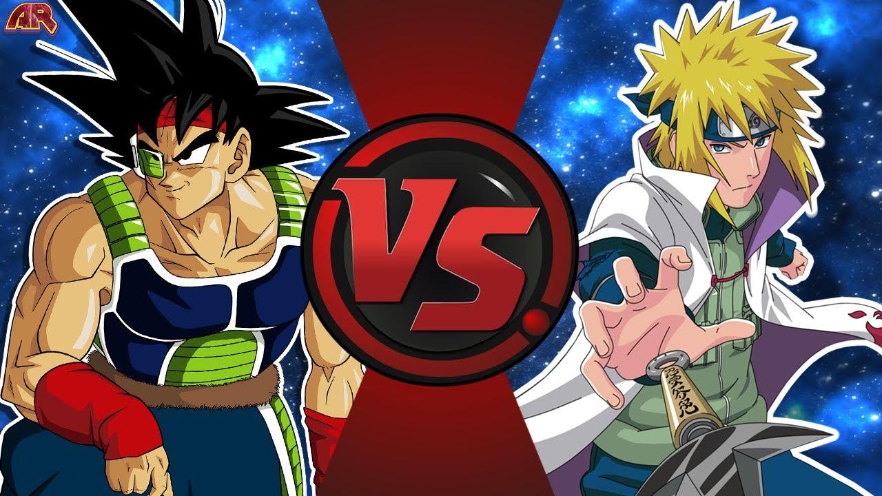 Bardock Vs Minato Dragon Ball Z Vs Naruto Goku S Dad