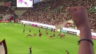 ヴィッセル神戸 チャント 選手メドレー イニエスタ 2018/8/15 サンフレ...