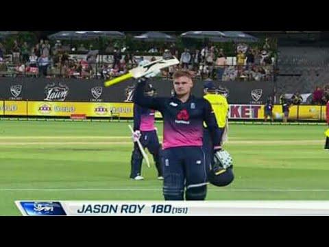 Australia vs England 1st ODI match England win by 5 wickets | Jason Roy 180 runs inning vs Australia