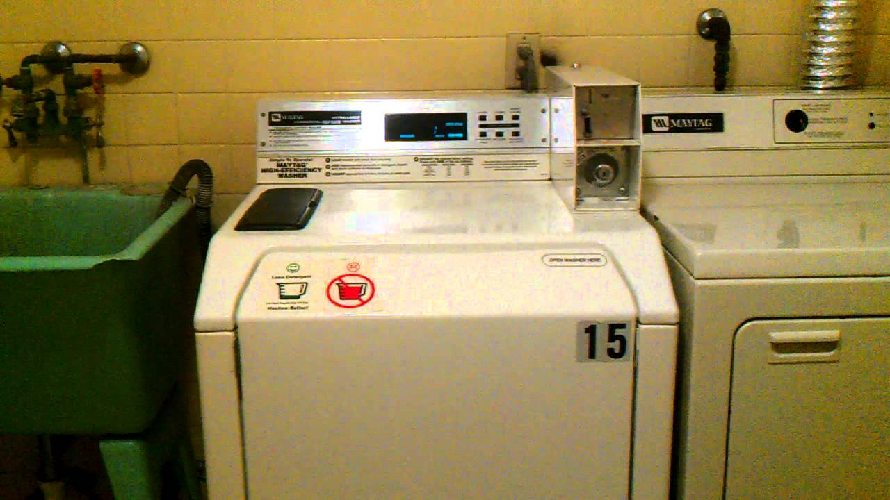 Maytag reptune commercial washer spin down and tour youtube swarovskicordoba Image collections