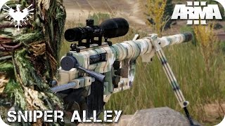SINGLE PLAYER | SNIPER ALLEY | ArmA 3 Gameplay Español (1080p HD)