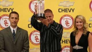 David Buehler 2008 Kickoff Specialist Trophy Conferment