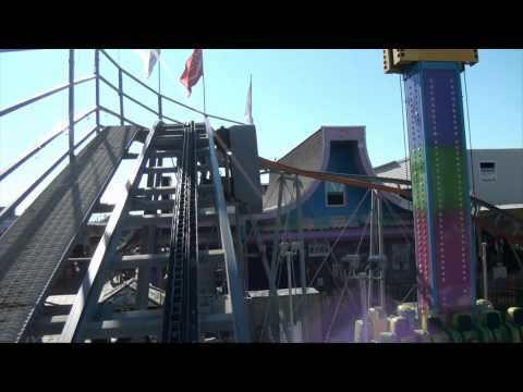 Funtown Family Roller Coaster POV Funtown Pier Seaside Heights New Jersey Shore