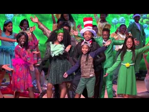 """Mount Vernon Arts Magnet - """"Seussical the Musical"""" - Act 1"""