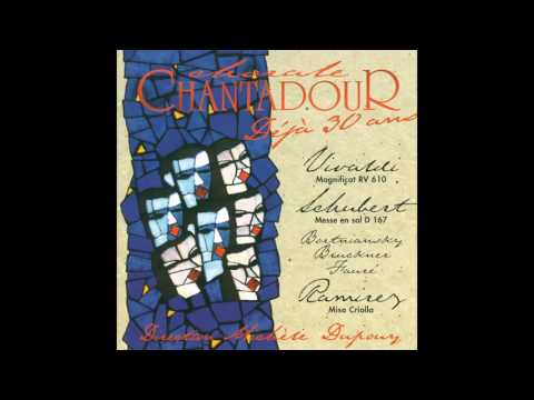 Chorale Chantadour, Ensemble instrumental du Sud-Ouest - Magnificat in G Minor, RV 610: I. Magnifica