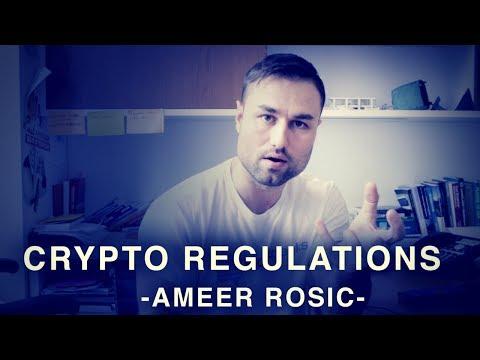 Regulating ICO's?