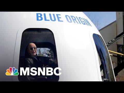Billionaire Jeff Bezos Set To Launch Into Space Aboard Blue Origin Rocket