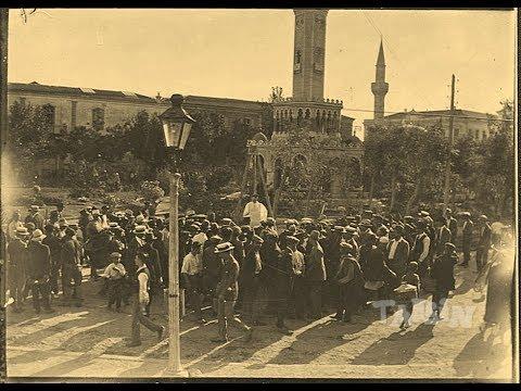 İzmir Saat Kulesi Önünde Yapılan İdamlar.  İzmir Saat Kulesi Tarihi 1901-2017