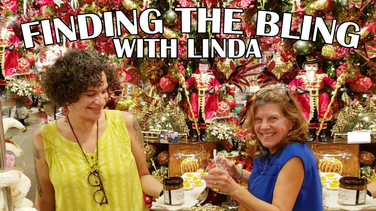 FINDING THE BLING WITH LINDA