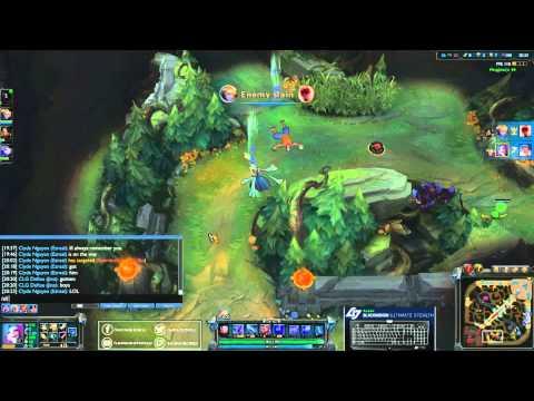 Clip LoL : Hi am Gosu và đội hình Xạ thủ ulti toàn bản đồ