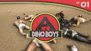 ARK: Survival Evolved:: Dino Boys Ep. 01 :: Two Tribes. One Victor.
