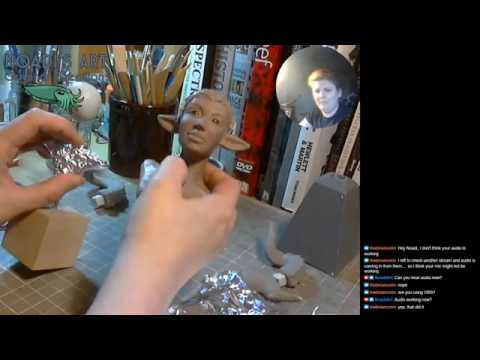 Autumn Faun Armature and Blocking In Twitch Stream Part 1