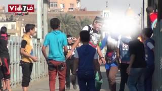 بالفيديو.. تحرش جنسى فى «عز الظهر» على كوبرى إمبابة