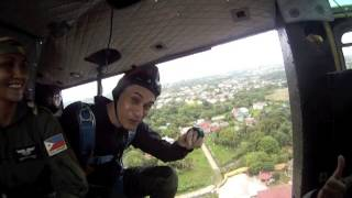 Pasayahan sa Lucena City 2013 Skydiving