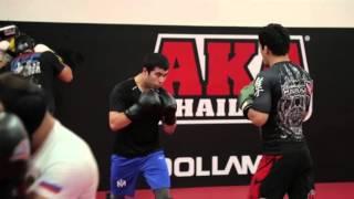 Muin Tajik Gafurov Highlight At AKA Thailand