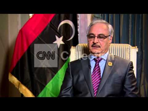 LIBYAN ARMY HEAD GENERAL HAFTAR ON REFUGEE CRISIS
