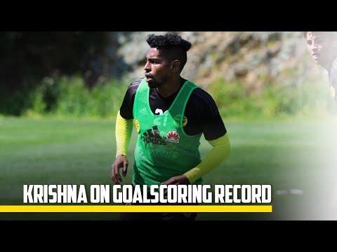 MEDIA | Roy Krishna On Goalscoring Record
