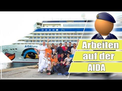 Arbeiten auf einem Kreuzfahrtschiff - #KriegerAIDA AIDA Krieger
