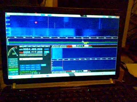 HackRf One receives different signals from two notebooks with AM LOOP  ANTENNA
