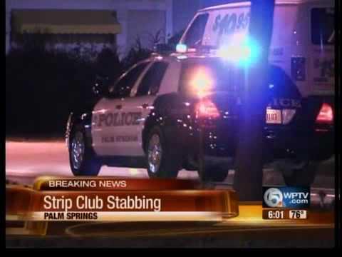 Strip club stabbing