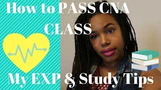 How to Pass CNA Class~My EXP & Study Tips