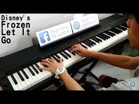 迪士尼【冰雪奇緣】Disney's Frozen - Let It Go [Piano Cover by Hugo Wong]