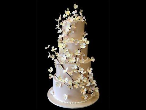 champagne-dogwood-wedding-cake