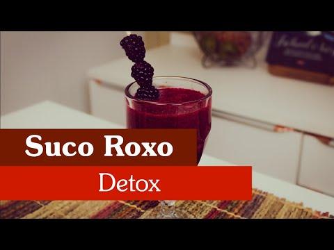SUCO ROXO DETOX!