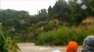 北海道ライオンアドベンチャー 2011 9 6 尻別川 大増水