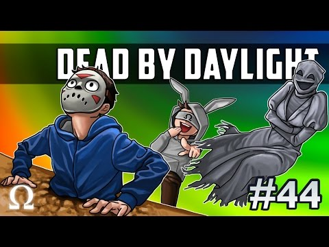 FUNNIEST GLITCH EVER, FIND THE CANDY HOLE! | Dead by Daylight #44 Ft. Delirious, Cartoonz, Bryce