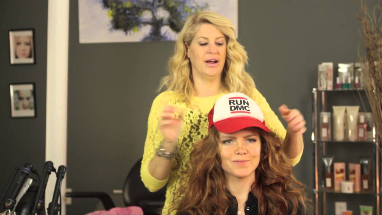 How to Wear a Trucker Hat With Your Hair Down   How to Wear Your Hair -  YouTube 977c82295
