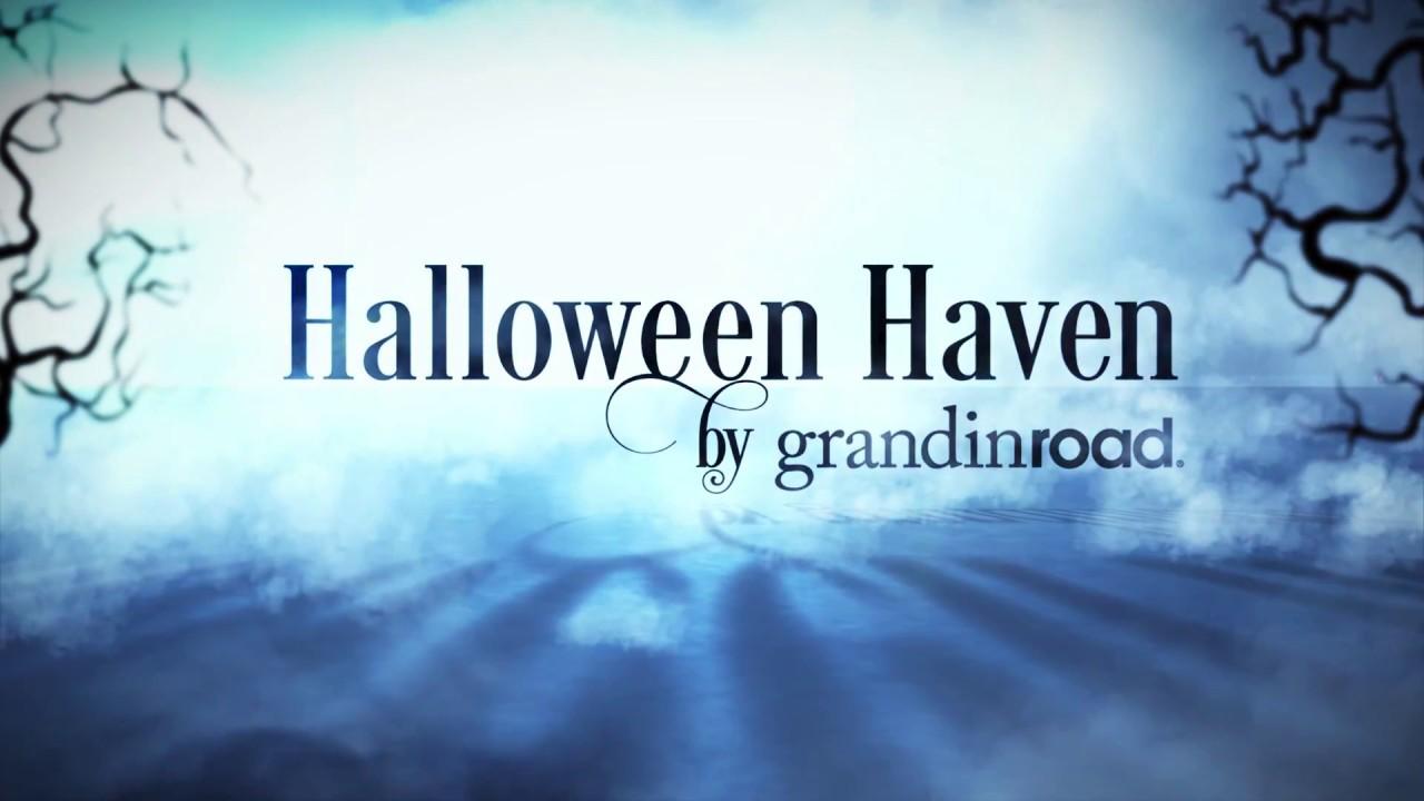 moving halloween trees grandin road
