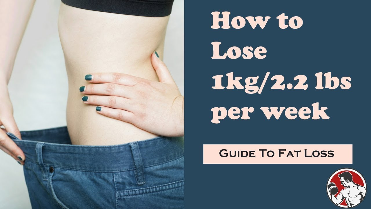Lose Weight How To 1kg 2 Lbs Of Body Per Week 2018