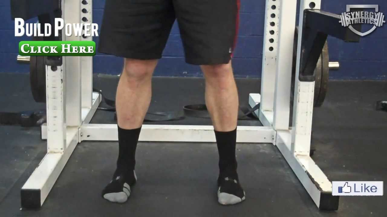 Correct Foot Position For Squat Exercise Youtube