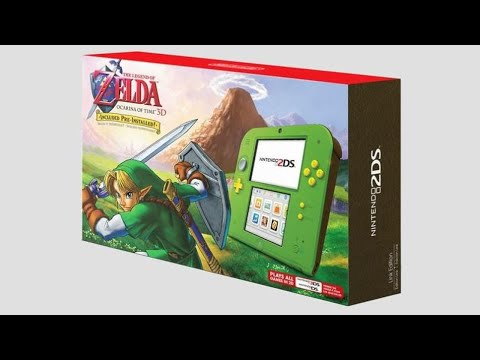 News & Analysis / Nintendo Reveals 'Link Green' 2DS, Breath of the Wild Explorer's Edition