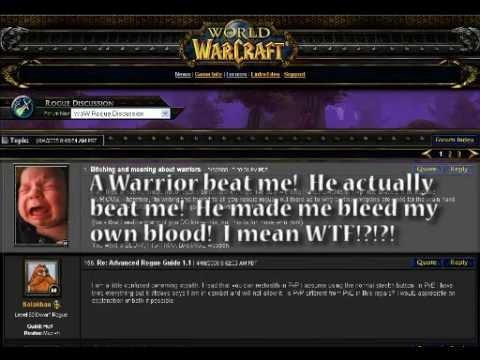 World of Roguecraft III - Forum Scene