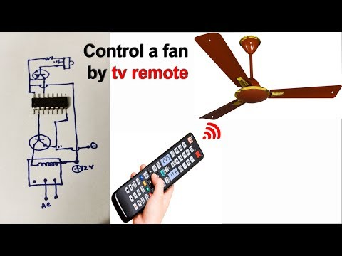 Control a Fan andLight by a tv remote (Et Discover)