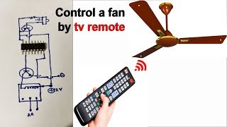 Video Control a Fan and  Light by a tv remote (Et Discover) download MP3, 3GP, MP4, WEBM, AVI, FLV September 2018