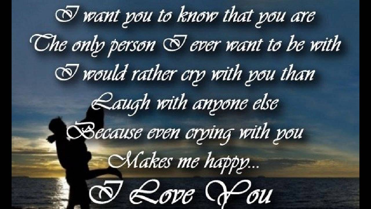 Sweet Love Quotes For Her Love Quotes For Him  Youtube