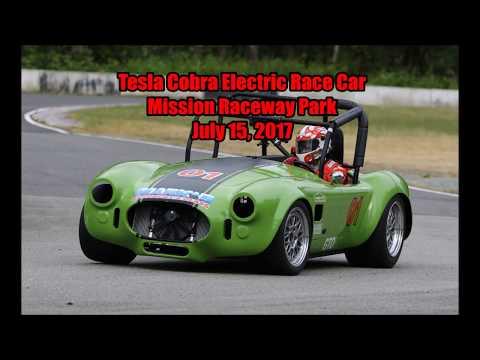Tesla Cobra EV at Mission Raceway Park