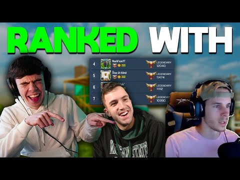 RANKED with Noah + Bobby vs TOP PLAYERS!  *COD Mobile* EU player playing on NA ping