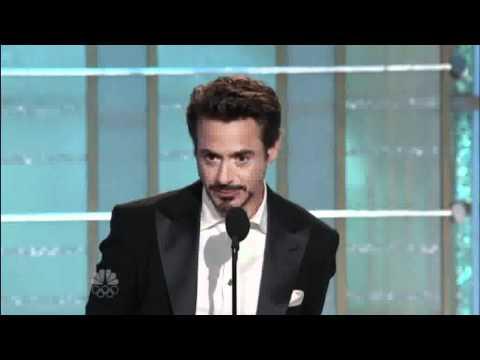 RDJ Golden Globe Speech!