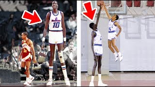 Tallest Players The NBA Has Ever Seen